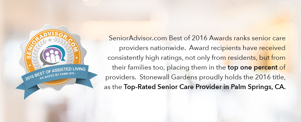 SenioraAdvisor.com Best of 2016 Assisted Living